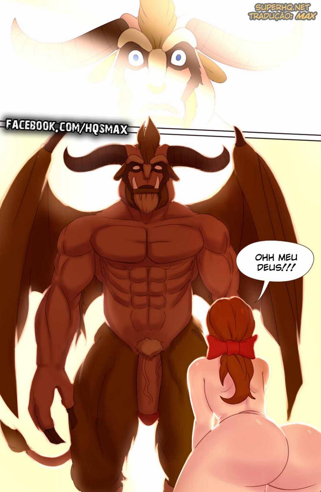 A Bela e a Fera - Hentai