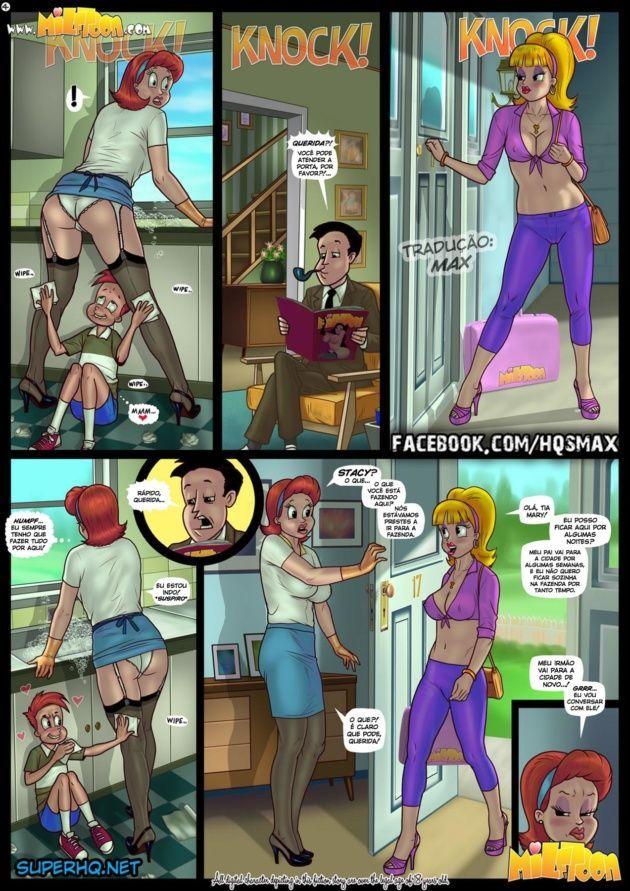 Big Johnny - Quadrinhos Eróticos
