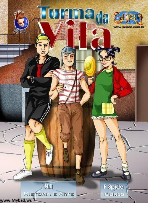 Hentai Chaves – Turma da Vila – HQ