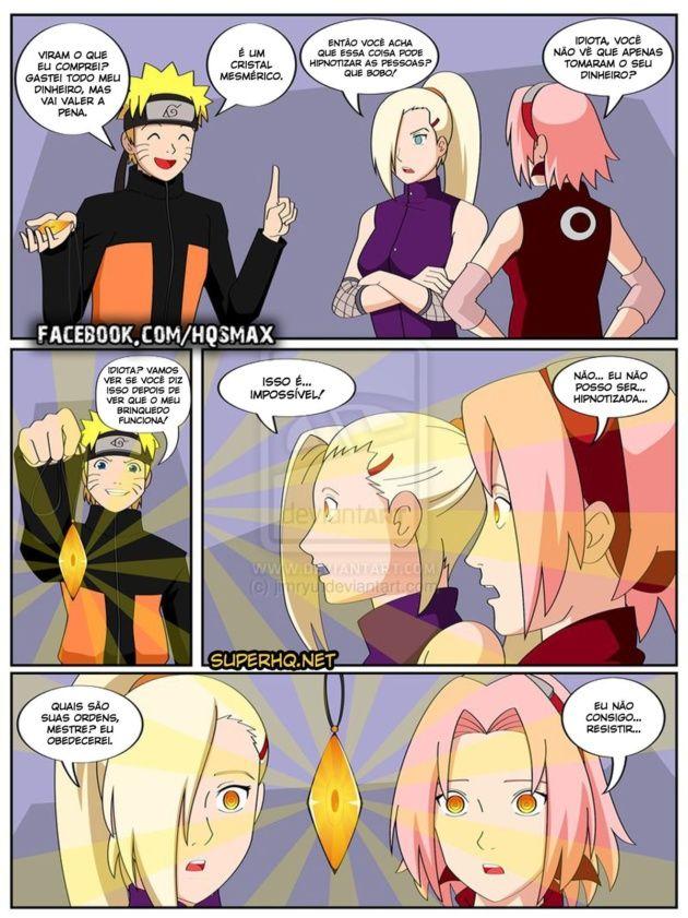 Naruto e o cristal mágico