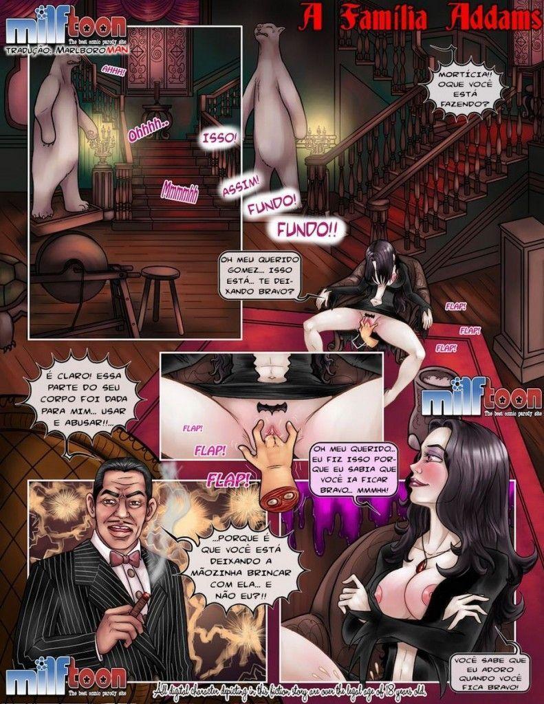 A Família Addams da putaria