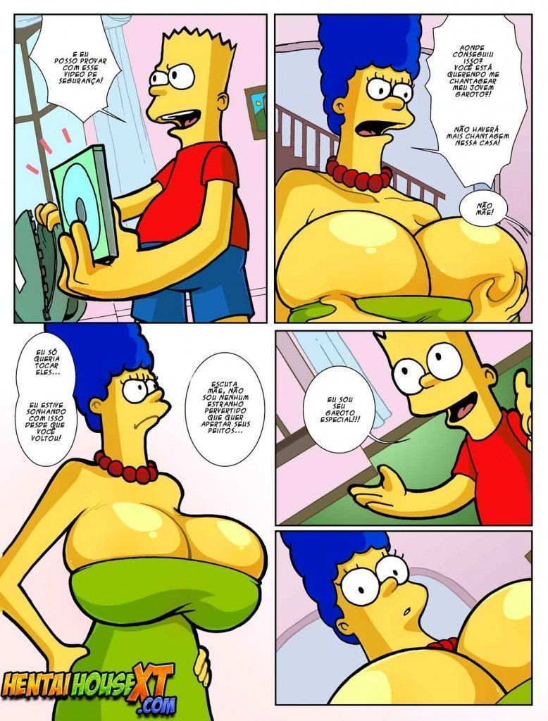 Bart fodendo a mamãe gostosa
