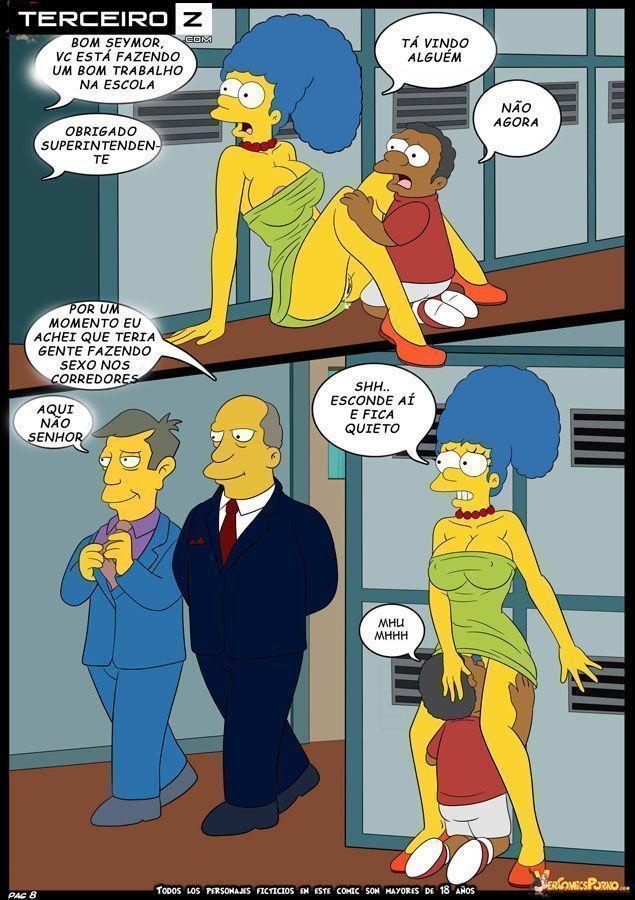 Marge dando uma trepada gostosa