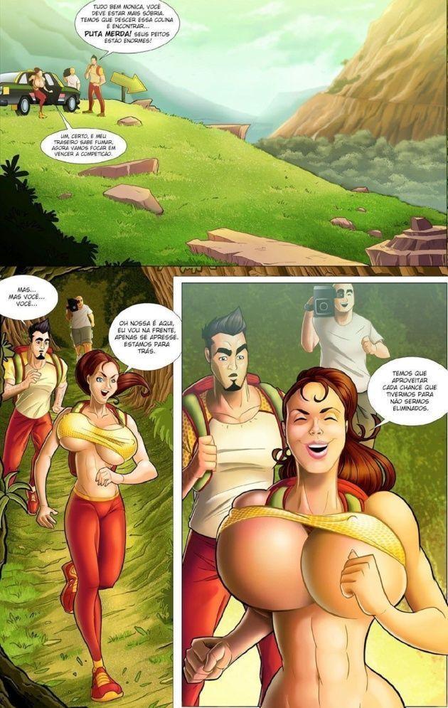 Moo-nica a aventura na amazônia