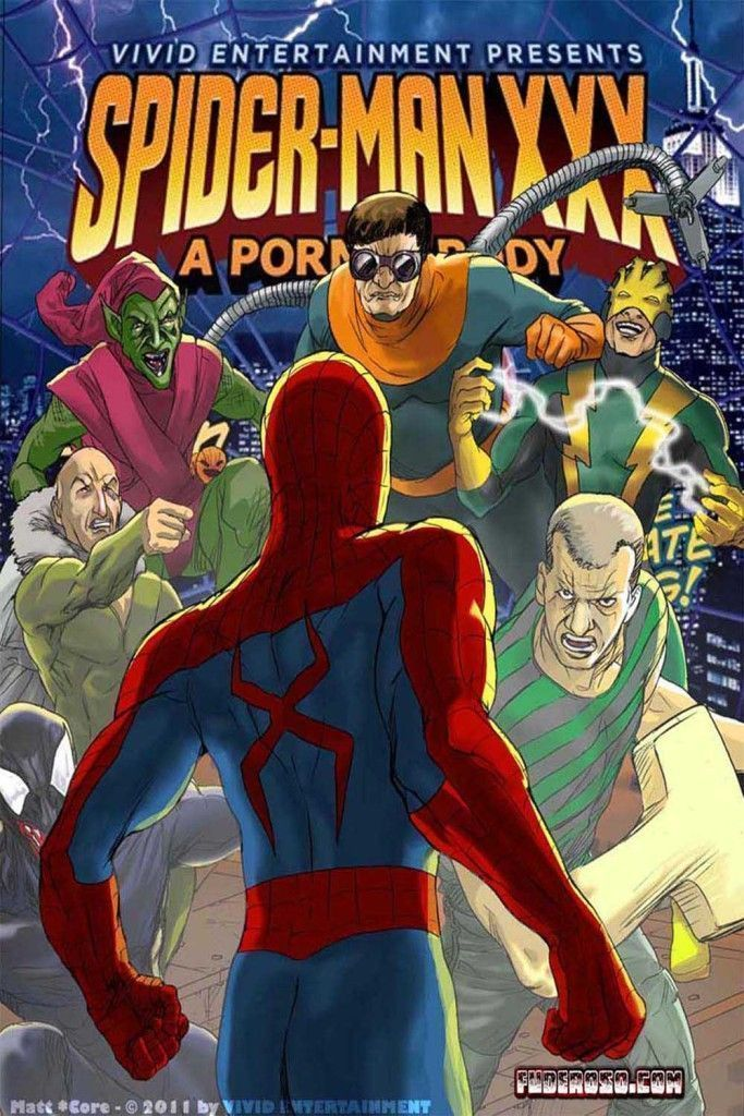 Spiderman Hentai porno