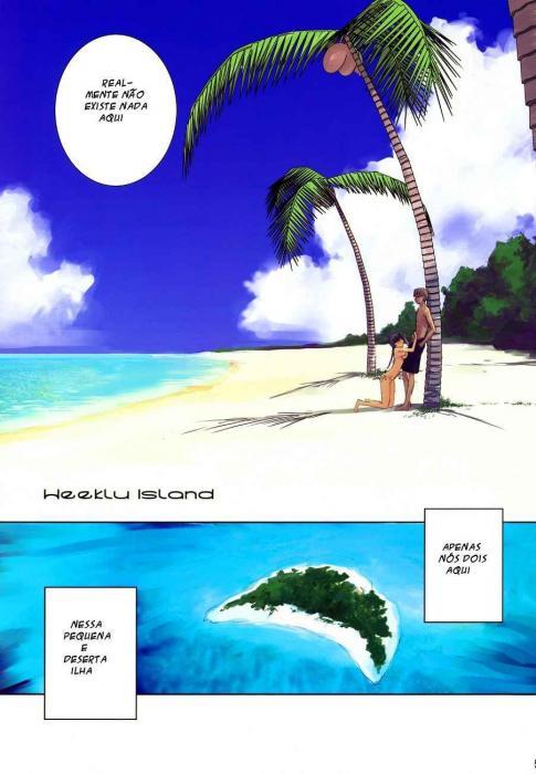 Tarados na ilha deserta