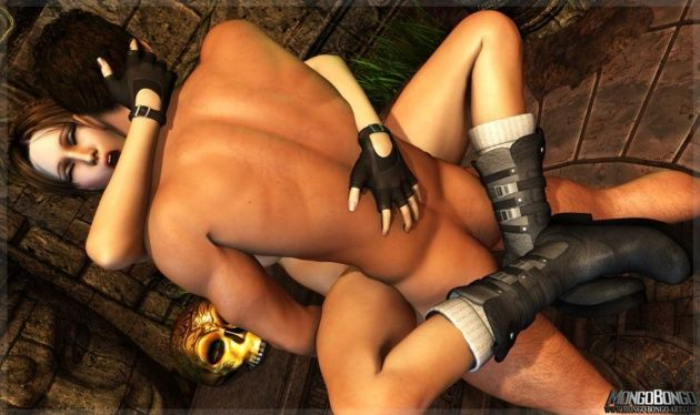 Tomb Raider na foda gostosa