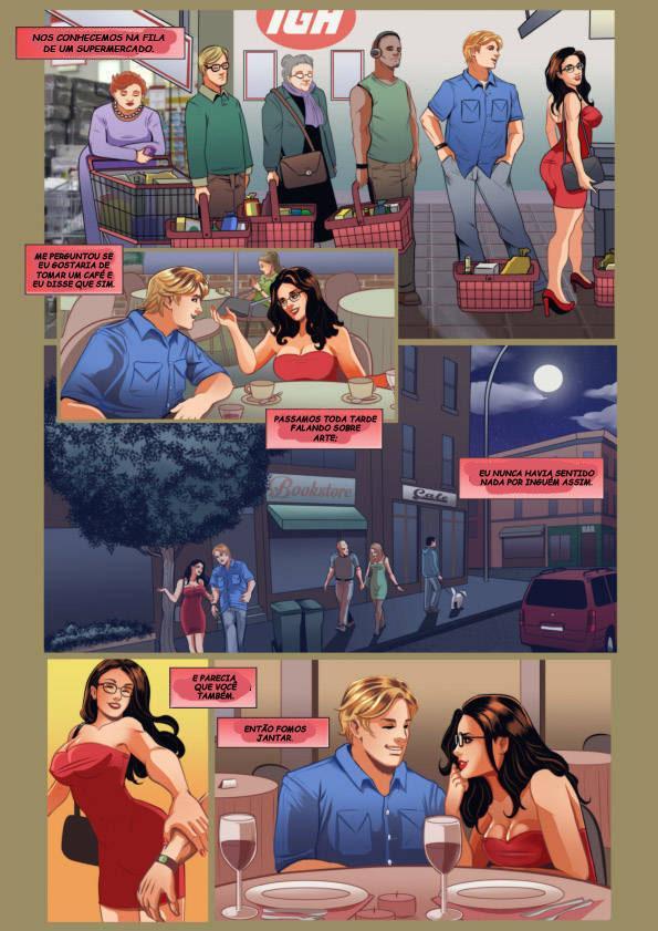 A namorada virtual canadense