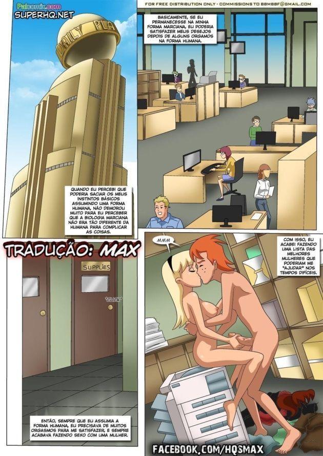 Liga da Justiça porno hentai