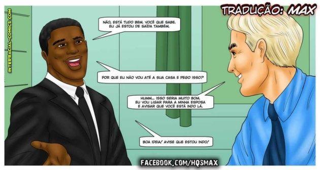Loirinha e o chefe negro do marido