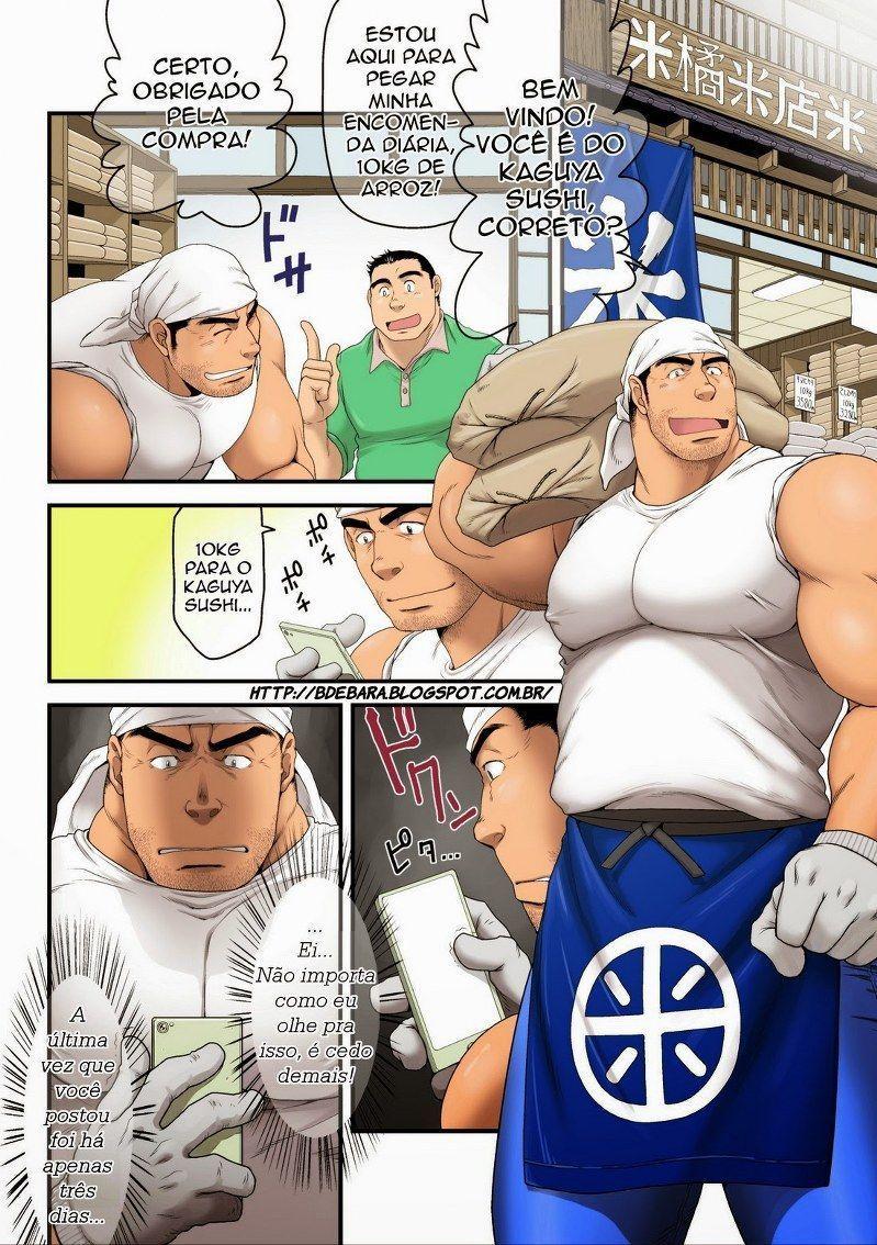 O macho gostoso da loja de arroz – Hentai Porno Br