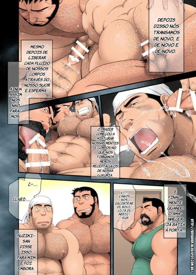 O macho gostoso da loja de arroz part-2