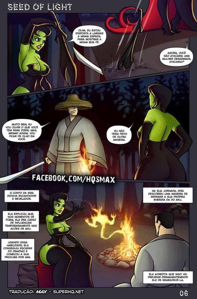 Samurai Jack e a estranha da noite