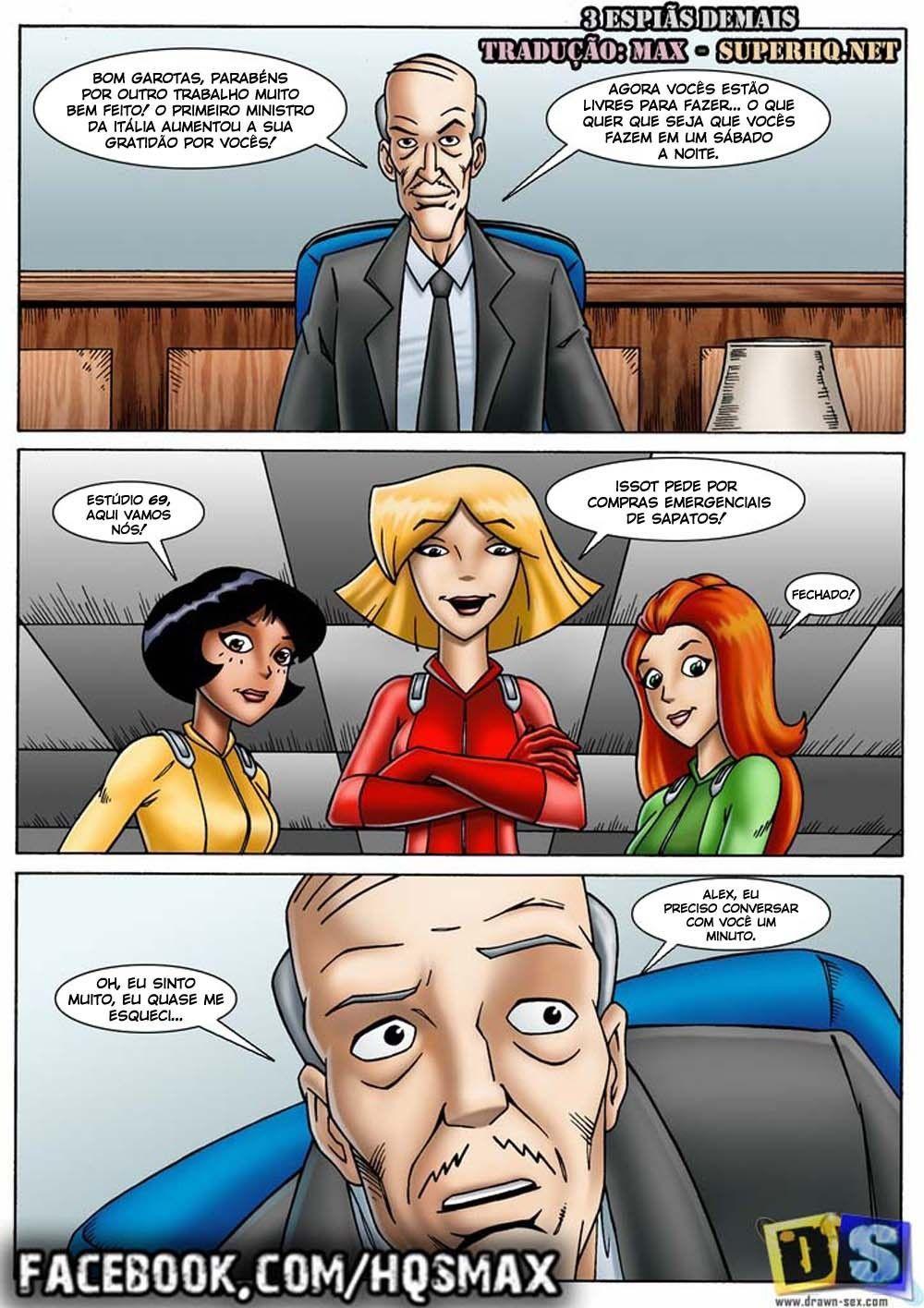 Super Espiãs safadinhas