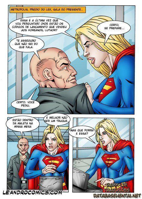 Supergirl tarada pelo Lex