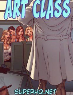 Art Class – Quadrinhos Eróticos
