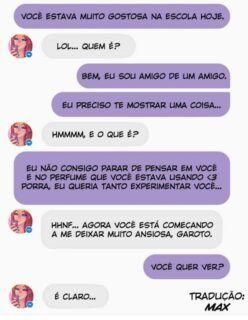 Sexo com a Chloe pelo whatsapp
