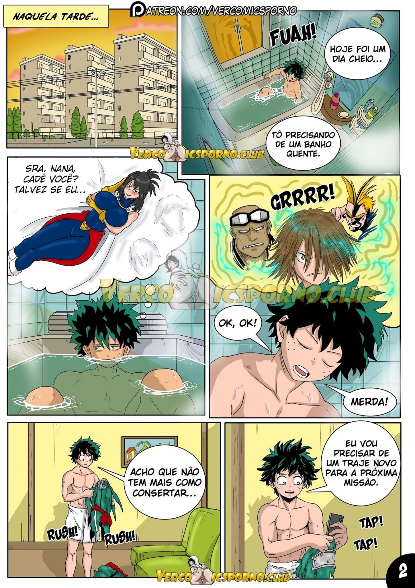 Boku No Hero – Magnetismo Animal 2