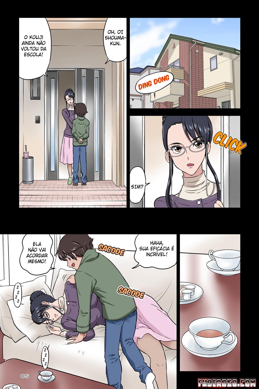 Tia Chikako fodendo com o sobrinho