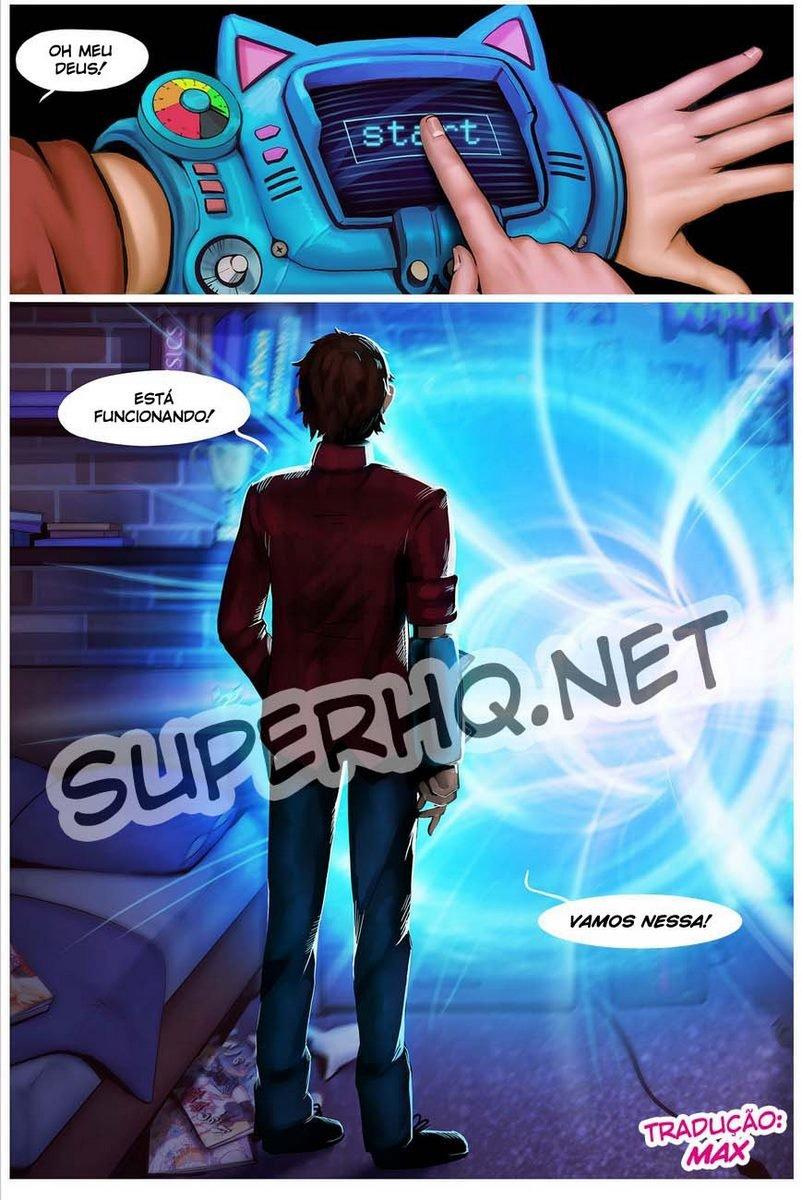 Waifunator 1 - Encontro com a Gwen